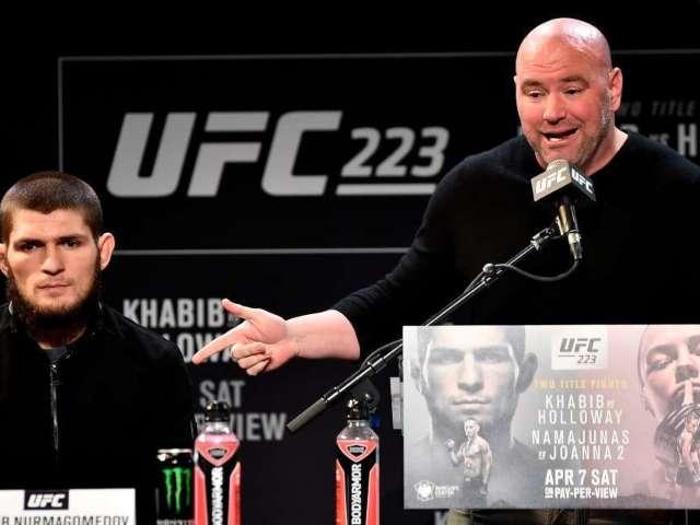 Dana White Makes Announcement on Khabib Nurmagomedov's Future in UFC