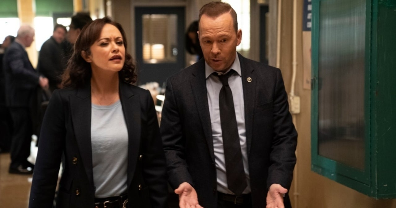 'Blue Bloods': Donnie Wahlberg Gets Back to Work With Marisa Ramirez for Season 12.jpg
