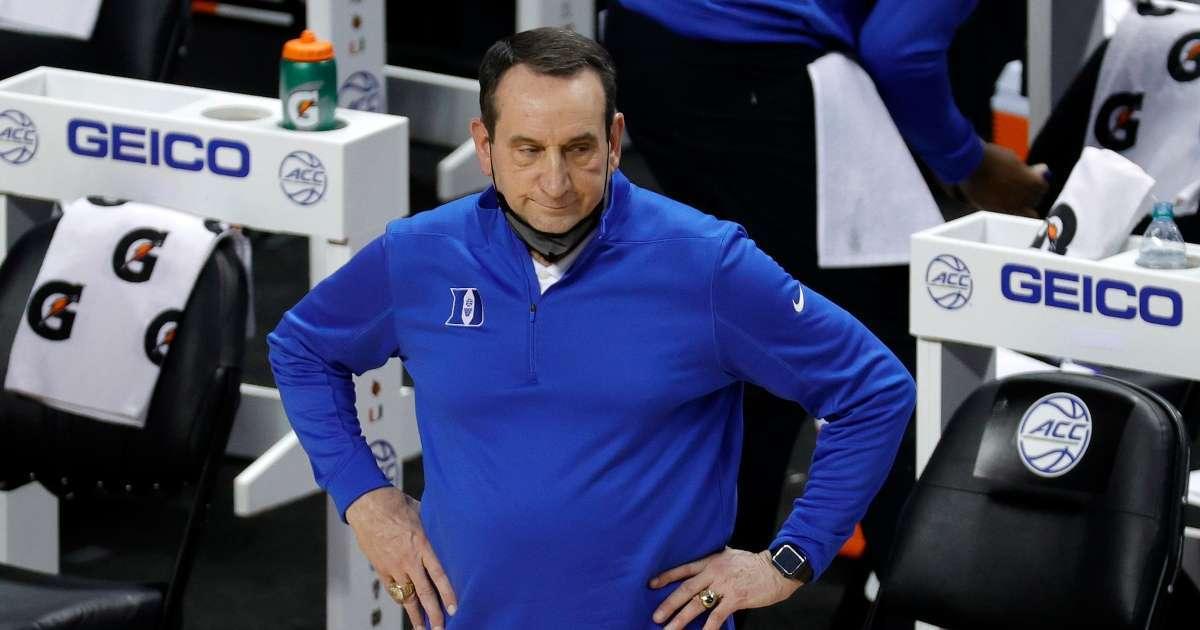 Duke Basketball Ends season pulls out ACC Tournament