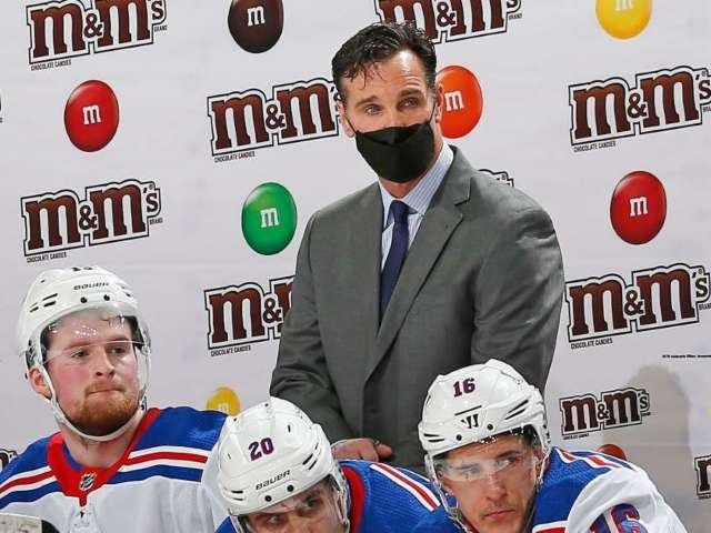 Entire New York Rangers Coaching Staff to Miss Game Due to COVID-19