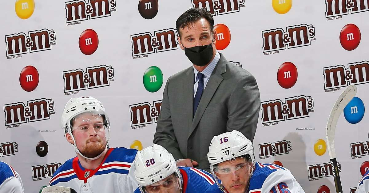 Entire New York Rangers coaching staff miss game COVID-19