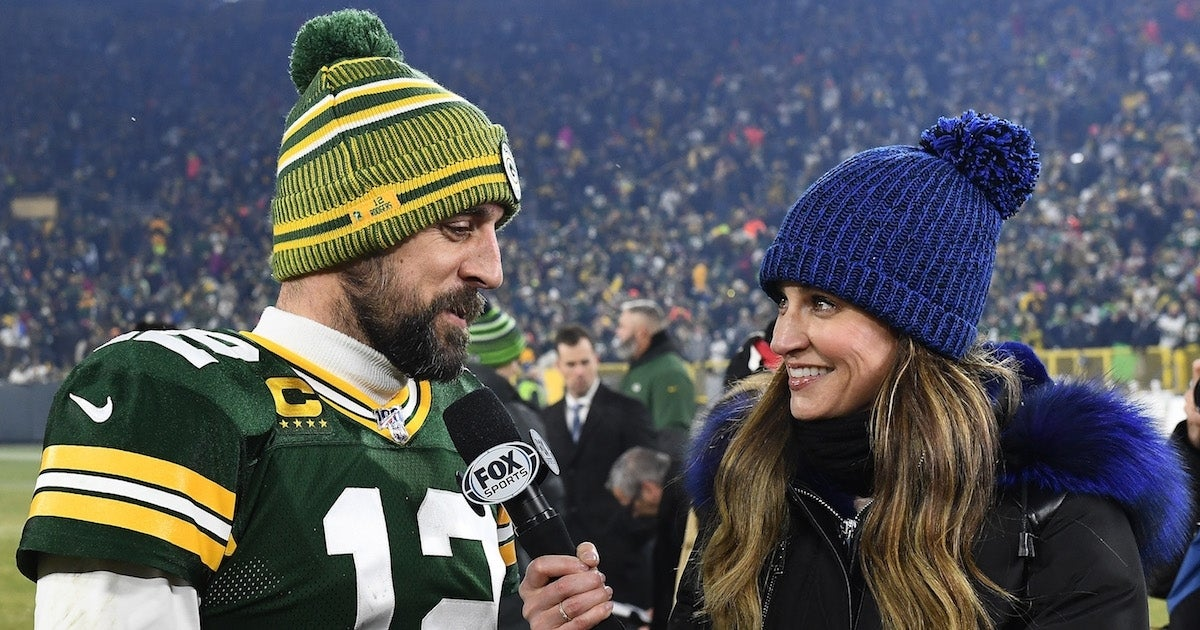 erin-andrews-aaron-rodgers_Getty-Stacy Revere : Contributor