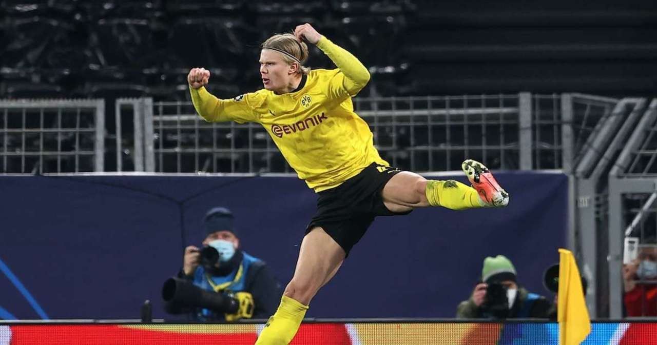 Champions League: Erling Haaland Tops Two Legends With 20th Goal in 14 Games