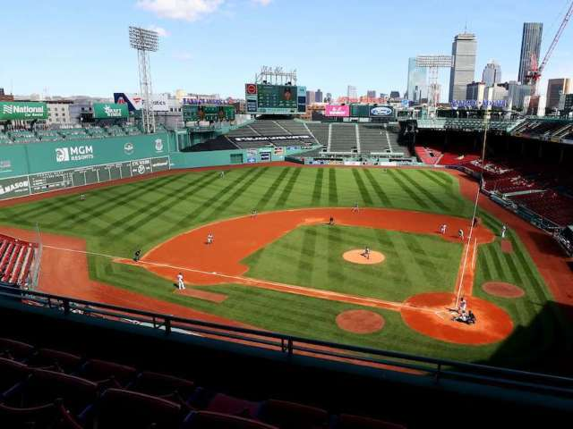Dodgers Fans Mock Red Sox With New Billboard Outside Fenway Park