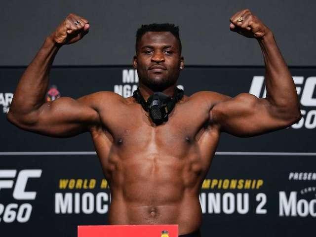 Francis Ngannou Sparks Brock Lesnar Comparisons After UFC 260 KO