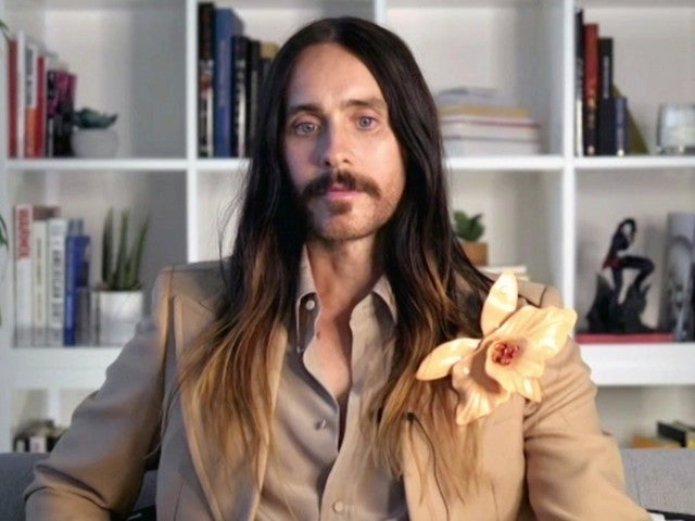 Golden Globes: Jared Leto's Outfit and Flower Brooch Turn Heads