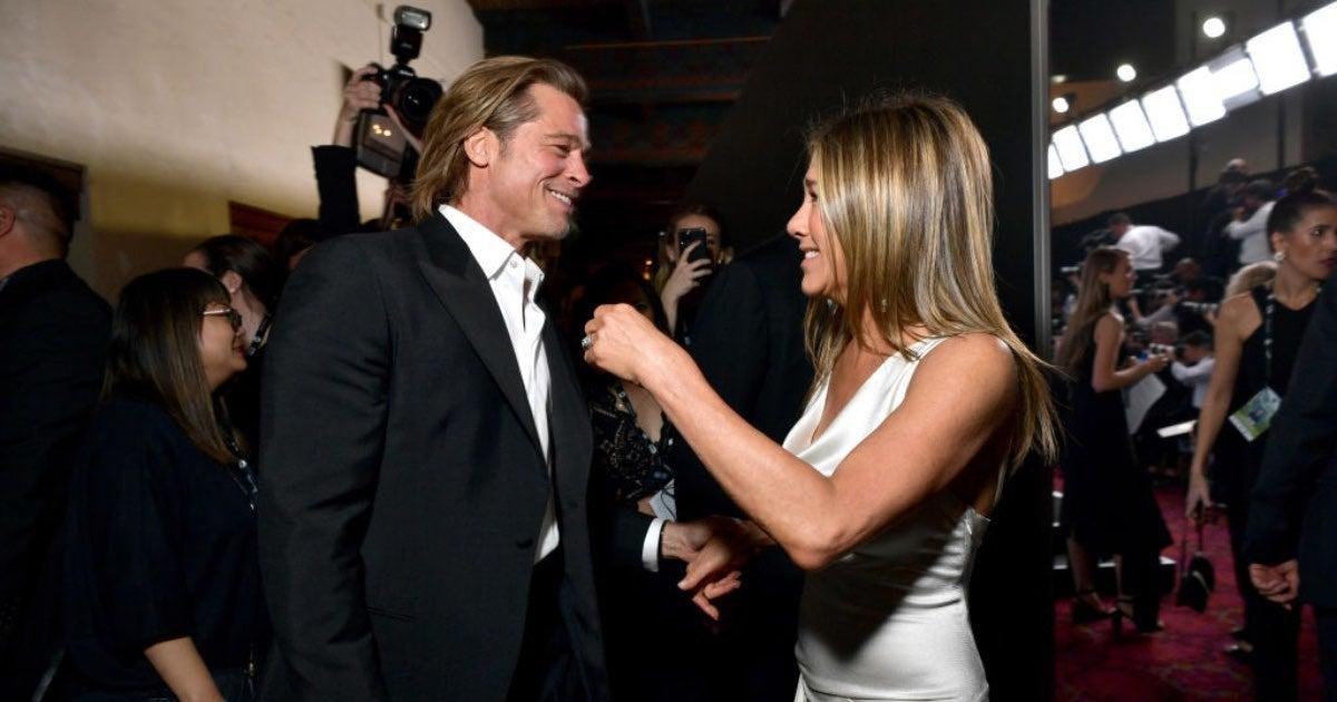 Jennifer Aniston and Brad Pitt-2