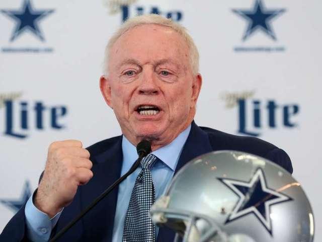 Cowboys Owner Jerry Jones Plans for 'Full Stadium' During 2021 Season
