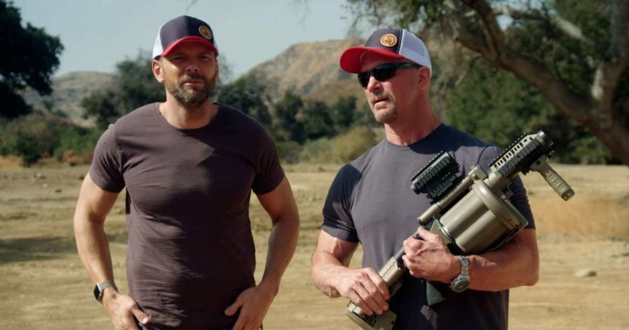 Steve Austin and Joel McHale Swap College Football Stories in 'Straight Up Steve Austin' Exclusive Clip.jpg