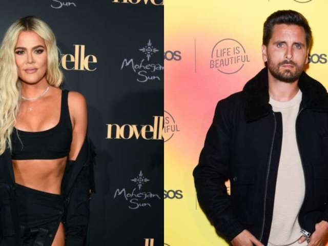 Khloe Kardashian Shares Topless Photo and Scott Disick Leaves Playful Comment