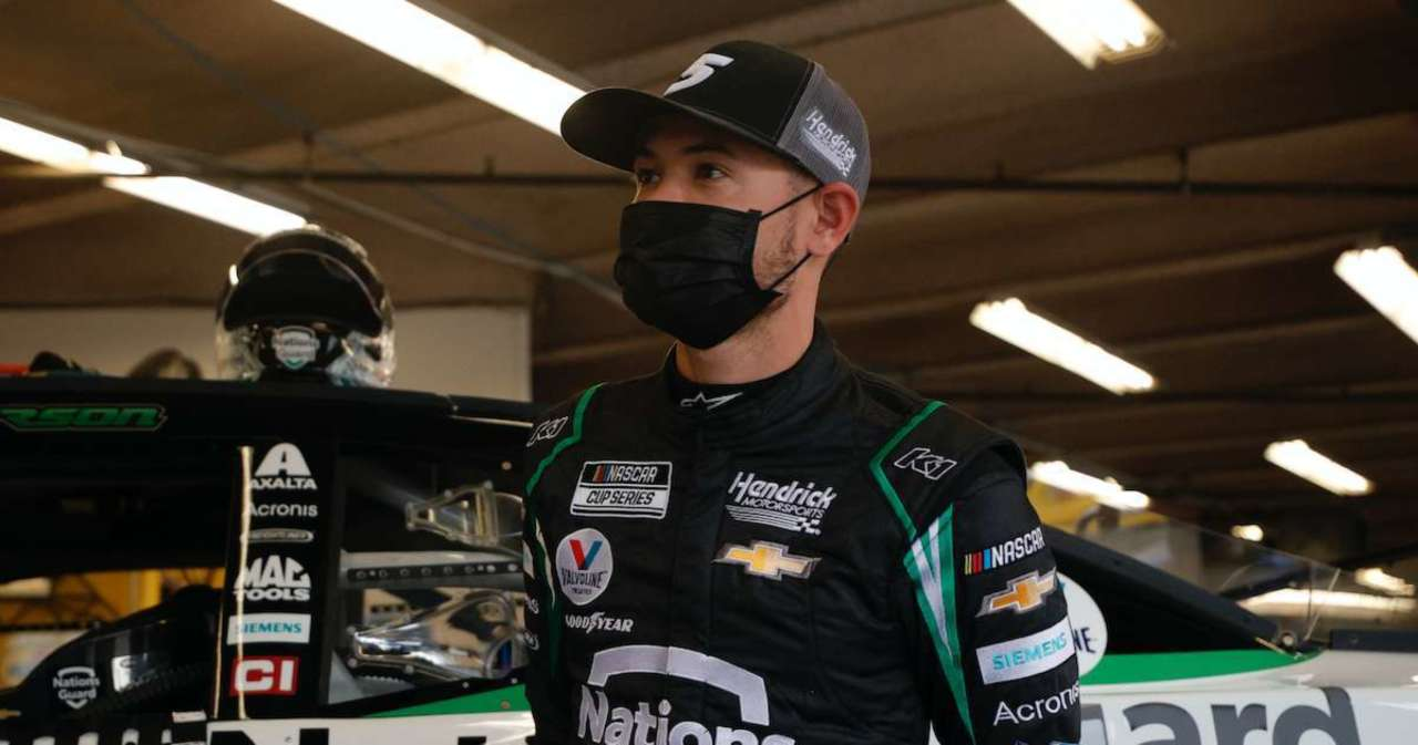 NASCAR Race: Kyle Larson Wins First Stage Since Returning From 2020 Suspension.jpg