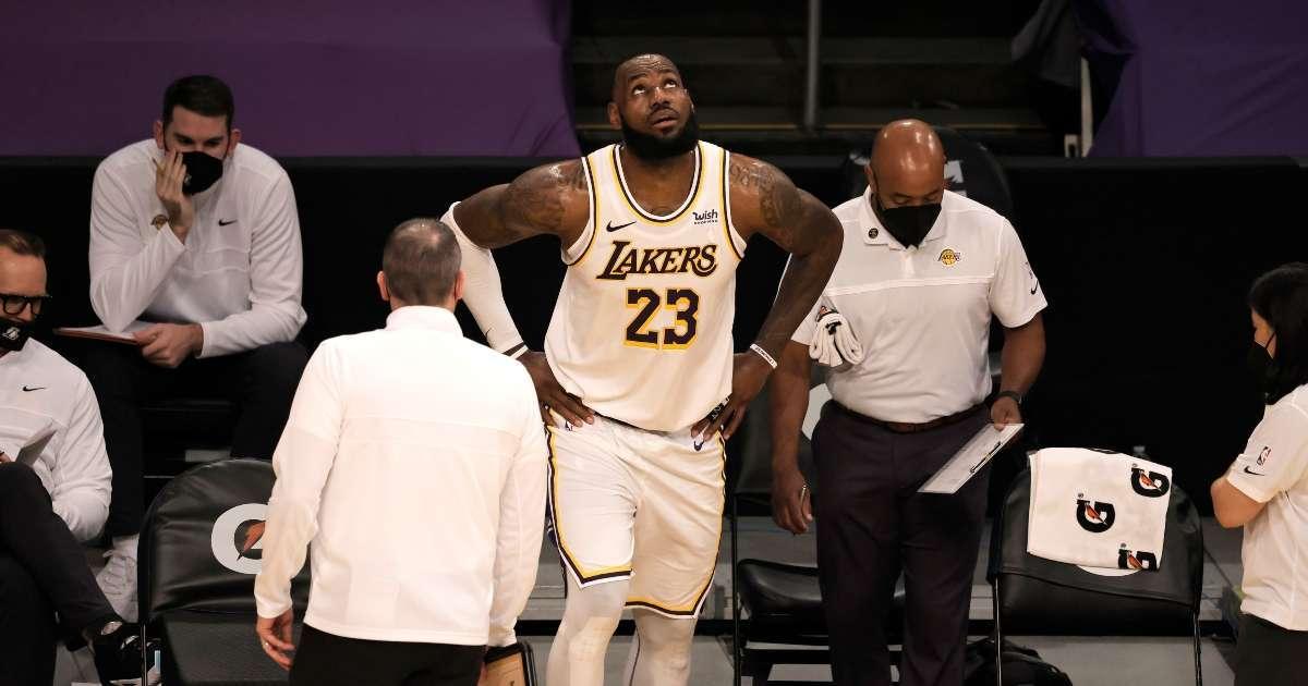 LeBron James injury update Lakers star revealed