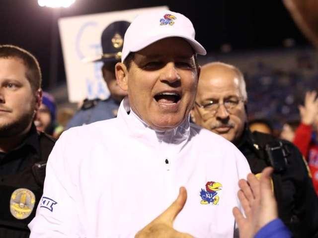 Les Miles out as Kansas Football Coach