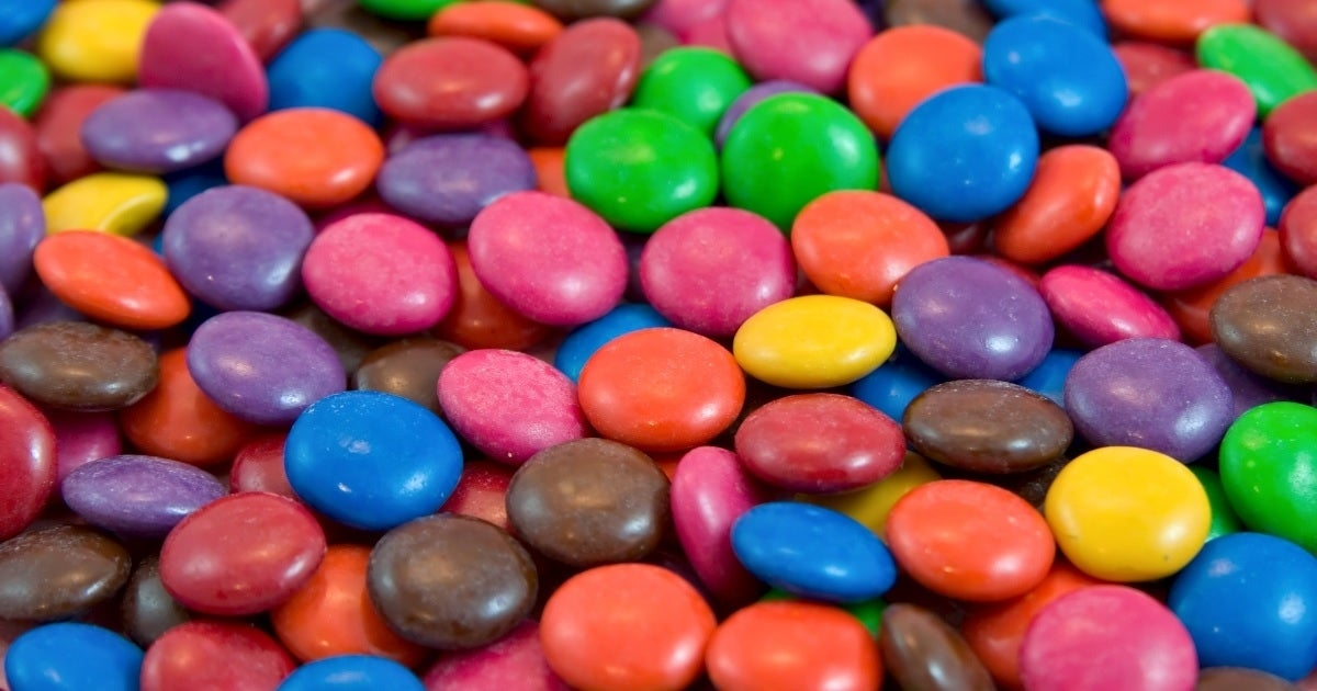 M&M's candy getty images