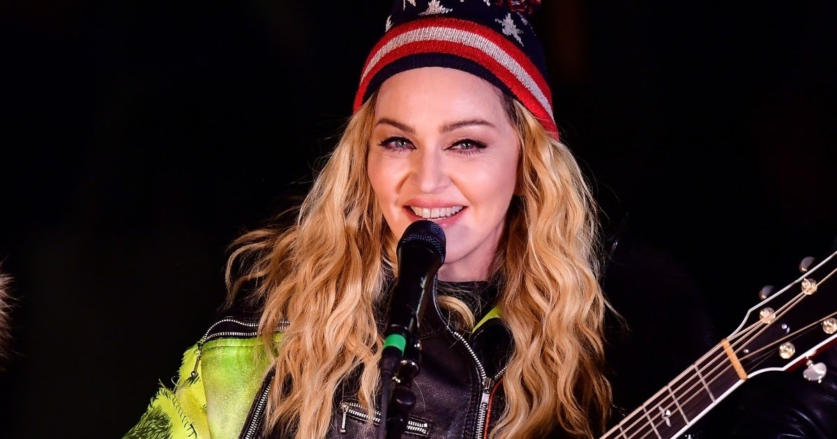 madonna getty images