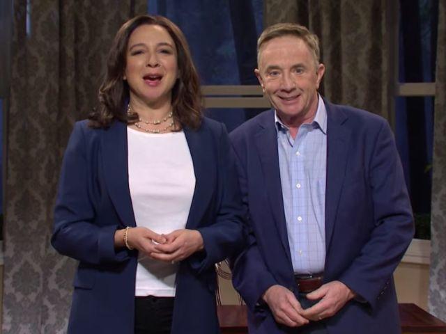 'SNL' Reunites Maya Rudolph and Martin Short for Kamala Harris Passover Skit