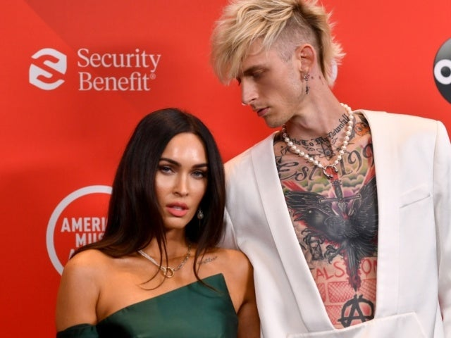Machine Gun Kelly Rocks New Hair Color on Date Night With Megan Fox
