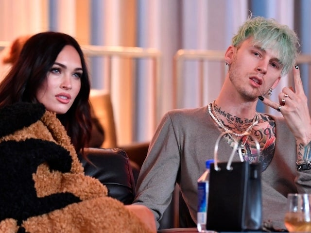 Megan Fox and MGK Double Date With Kourtney Kardashian and Travis Barker in Vegas