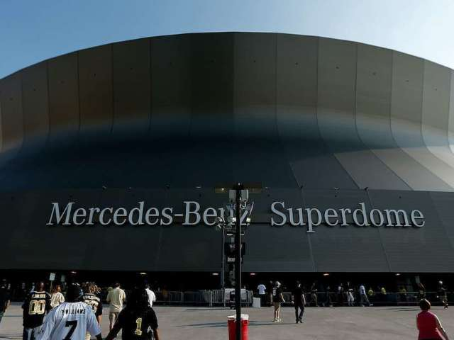 Saints Reportedly Signing Superdome Naming Rights Deal With Caesars