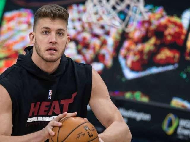 Miami Heat Make Decision on Meyers Leonard After Ethnic Slur Incident