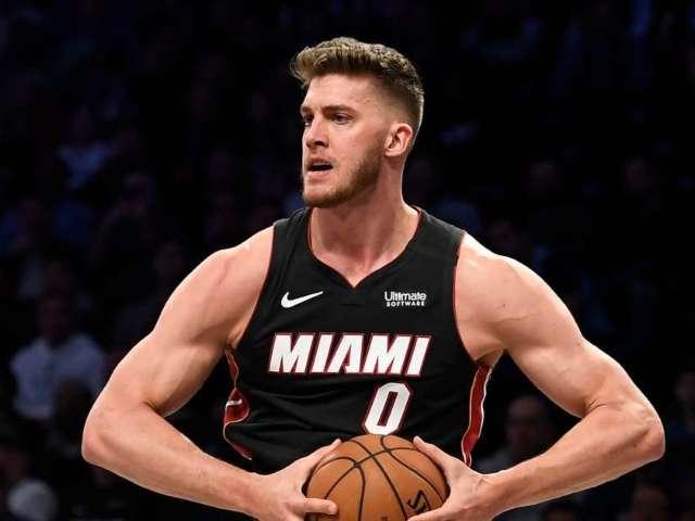 NBA Punishes Heat's Meyers Leonard for Ethnic Slur