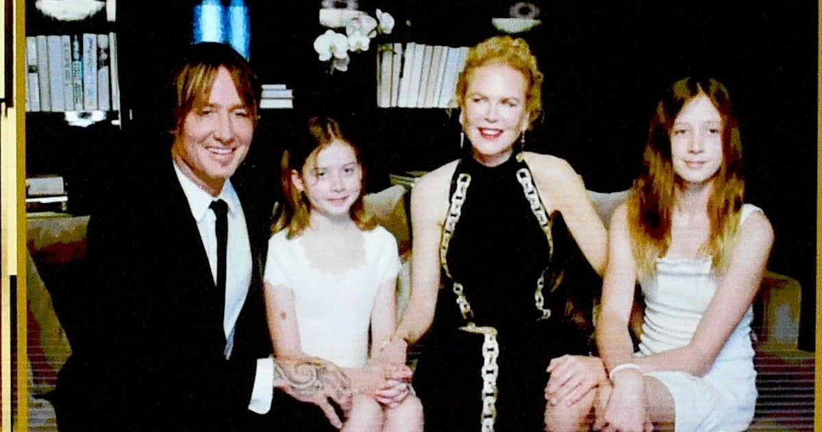 nicole kidman keith urban daughters getty images golden globes