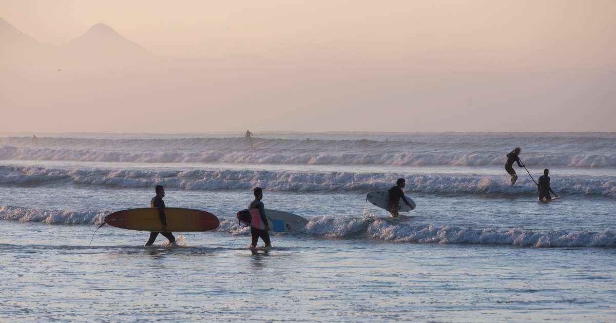 Olympic surfing hopeful killed lighting strike training