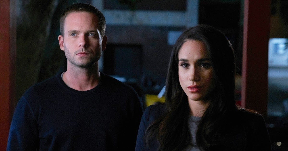 patrick j adams meghan markle getty images usa network