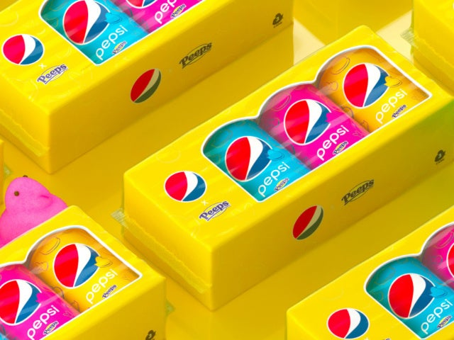 Pepsi Launches New Limited Edition Peeps Marshmallow Pop