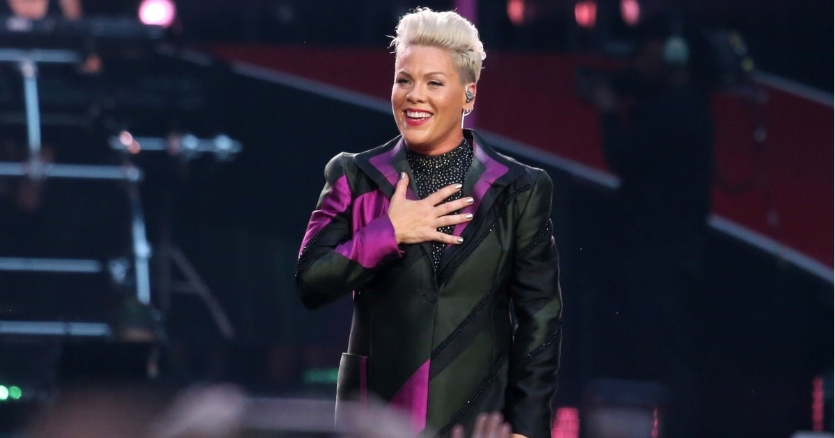 pink wembley getty images