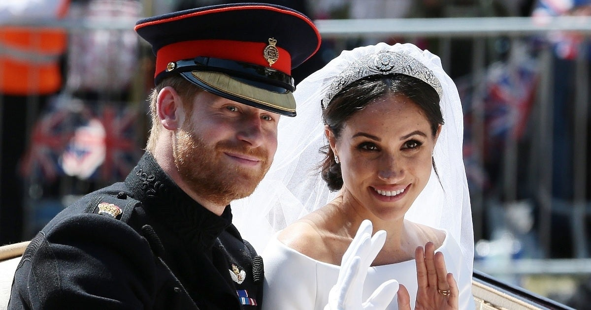 prince harry meghan markle wedding getty images
