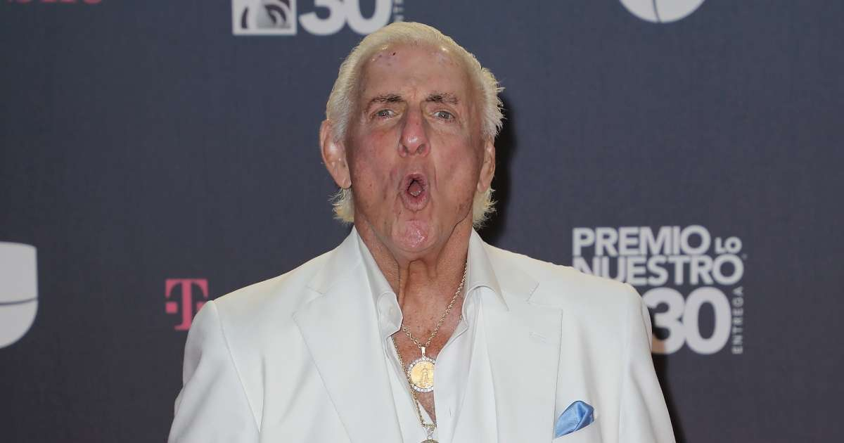 Ric Flair looking to get back in ring 1 more time WWE