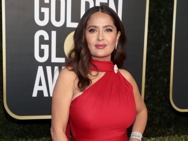 Salma Hayek Reveals Ankle Injury, Shows off Propped-up Leg During Recovery