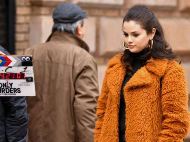 Selena Gomez Flips off Paparazzi While Filming 'Only Murders in the Building'