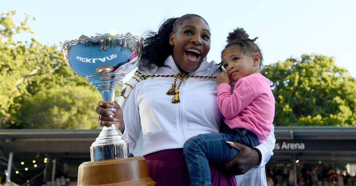Serena Williams daughter Olympia 3 star first fashion shoot together