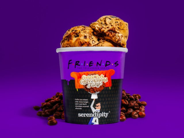 'Friends'-Themed Central Perk Ice Cream Is Now Available