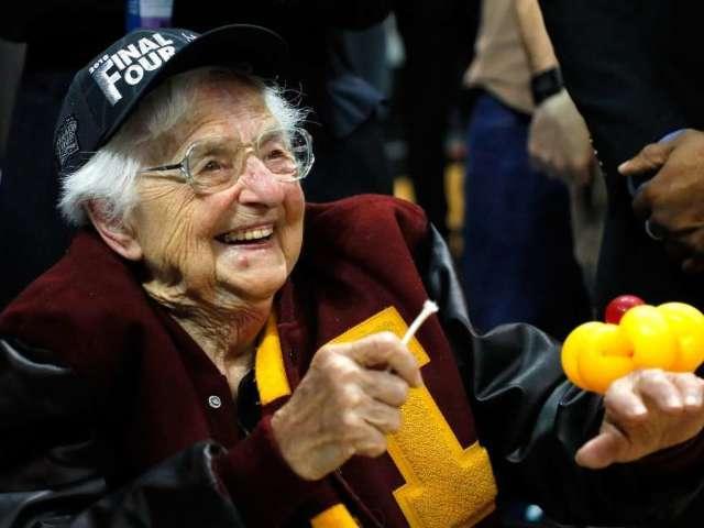 Sister Jean, Loyola-Chicago's Chaplain, to Return to NCAA Tournament