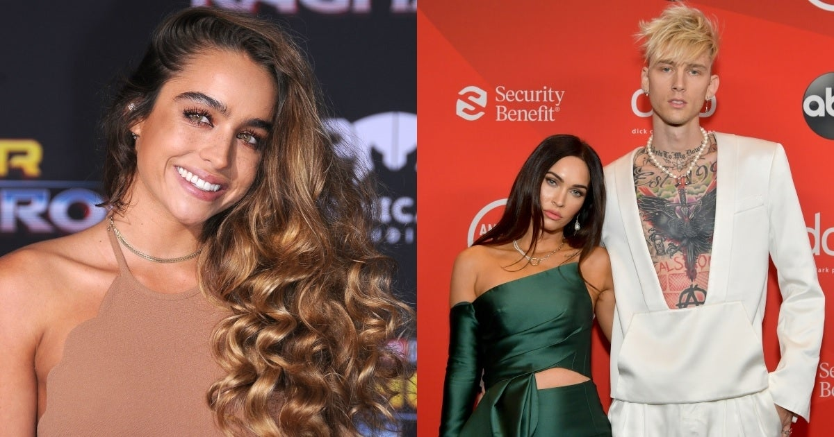 sommer ray machine gun kelly megan fox getty images