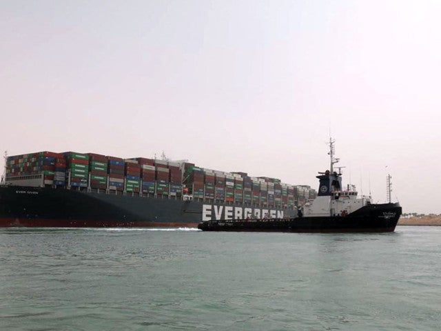 Suez Canal: Ever Given Ship Freed After Blocking Waterway for 6 Days