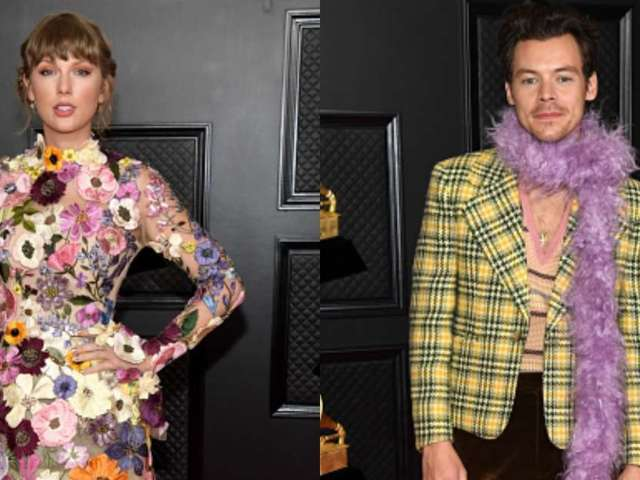 Watch: Taylor Swift and Harry Styles Spotted Chatting With Each Other Amid Grammy Wins