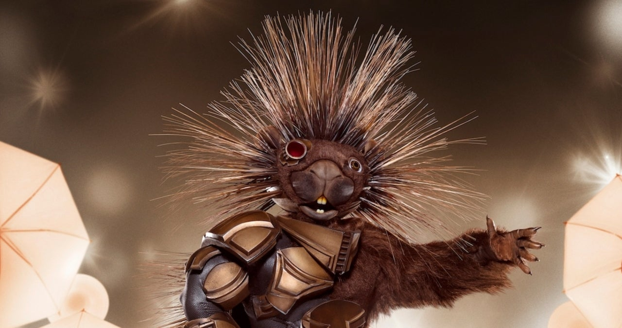'The Masked Singer' Season 5 Unveils Porcupine Costume — and They're Slightly Terrifying.jpg