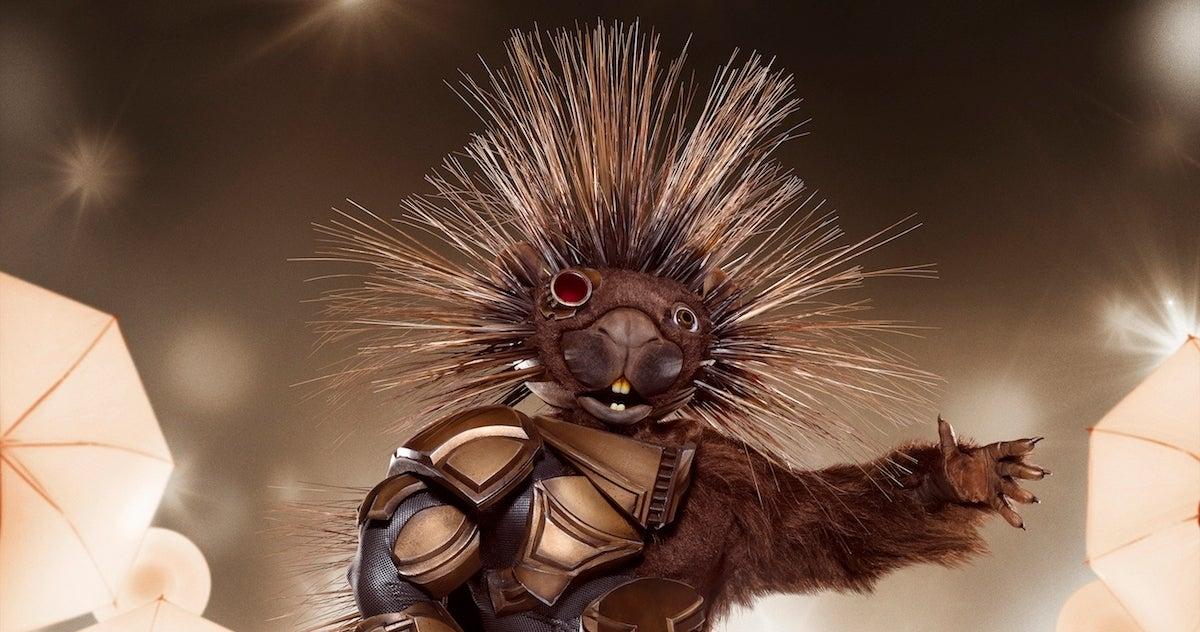 The Masked Singer Porcupine copy