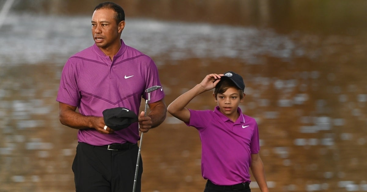tiger woods son charlie getty images