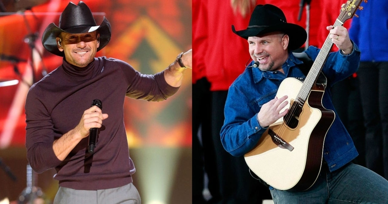 Tim McGraw and Garth Brooks Were Once Bridesmaids Together.jpg