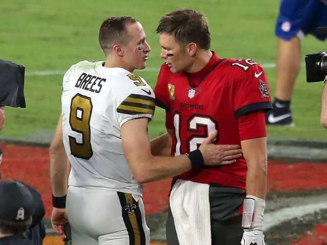 Tom Brady Sends Message to Drew Brees After Announcing Retirement From NFL