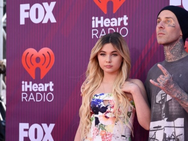 Travis Barker's Daughter Covers up All His Face Tattoos in Makeover Video
