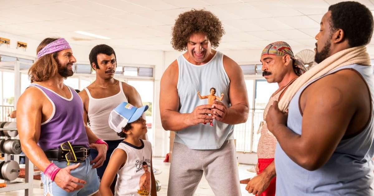 Young Rock sets Battle Royal episode wrestling legends