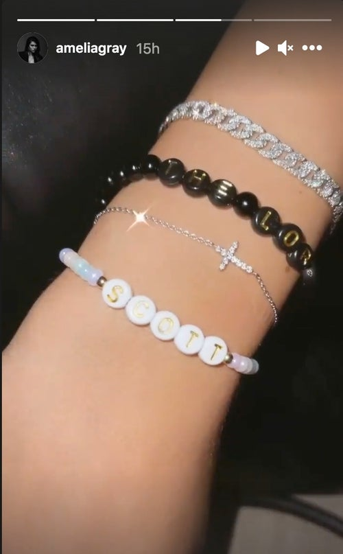 Amelia Hamlin bracelet