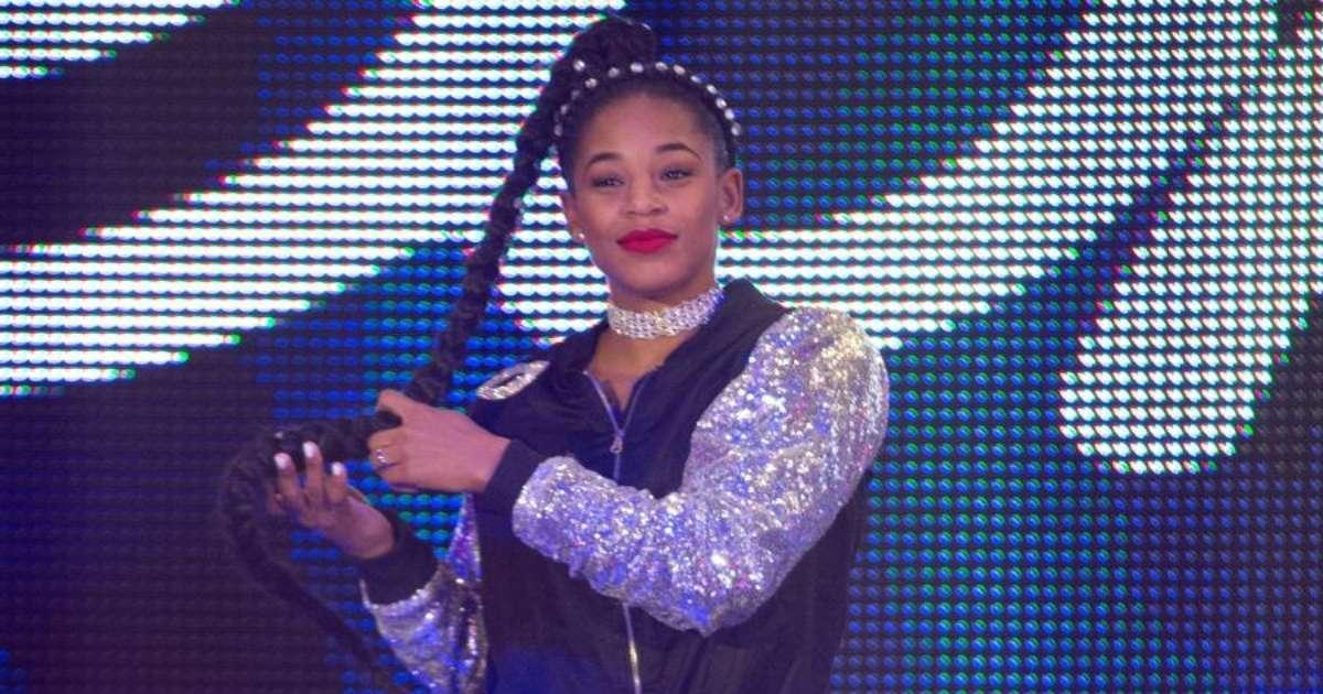 Bianca Belair reacts making WWE history Sasha Banks WrestleMania 37