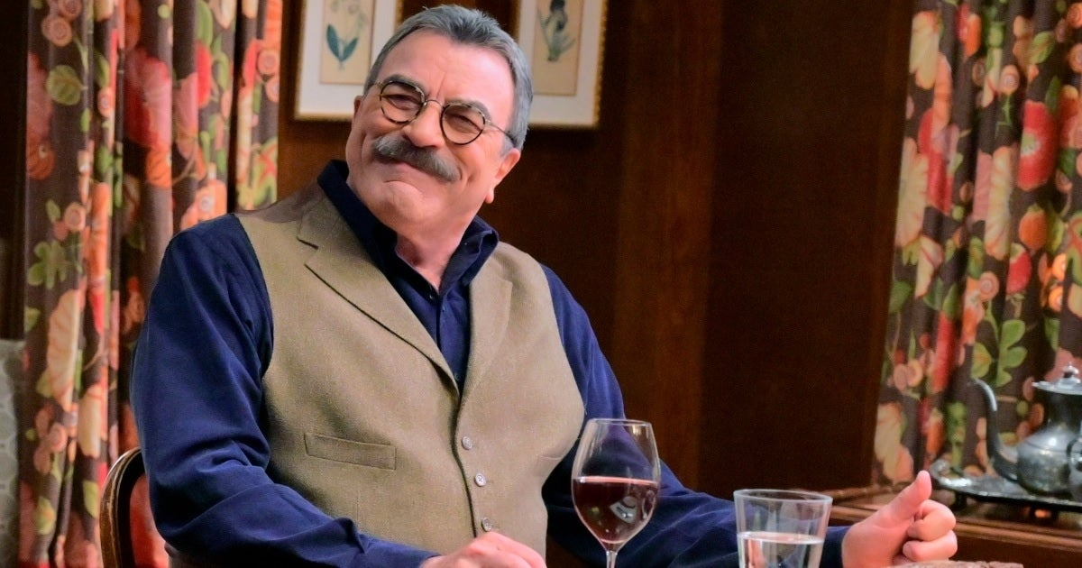 blue bloods tom selleck dinner cbs getty images